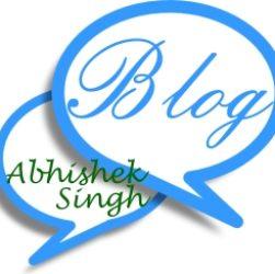 Blogs – Abhishek Singh